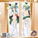グリーンダムたん 緑バ娘 アニメ抱き枕カバー 両面等身大 サイズ/素材選択可