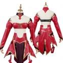 Fate/Grand Order FGO モードレッド 赤のセイバー コスプレ衣装