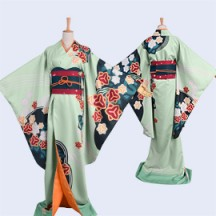 A3!エースリー! 夏組 瑠璃 川幸 るりかわ ゆき SR 着物 舞の心 コスプレ衣装