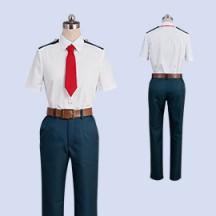 僕のヒーローアカデミア 緑谷出久 雄英高校男子夏制服 コスプレ衣装 アニメ コスチューム
