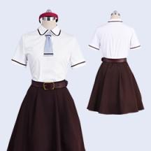 あそびあそばせ 本田華子 オリヴィア 野村香純 夏制服 コスプレ衣装