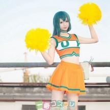 僕のヒーローアカデミア ヒロアカ チアリーディング  コスプレ衣装 アニメ コスチューム