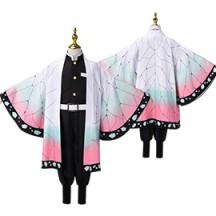 鬼滅の刃 胡蝶しのぶ 子供用 着物 コスプレ衣装