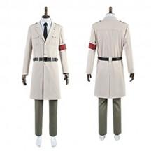 進撃の巨人 ファイナルシーズン マーレ軍 マーレの戦士隊副長 マーレの戦士長 コスプレ衣装