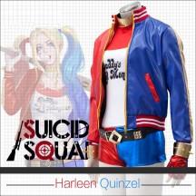 【女性S/M/L/XL即納品・三日以内発送】Suicide Squad Harley Quinn スーサイドスクワッド ハーレイ・クイン コスプレ衣装