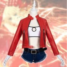 【即納品・5~7営業日発送】Fate/apocrypha FGO モードレッド 日常服 赤のセイバー コスプレ衣装