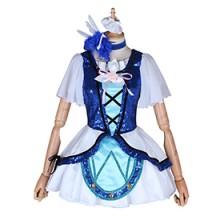 ラブライブ!サンシャイン!! アクア 桜内 梨子 WATER BLUE NEW WORLD コスプレ衣装