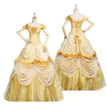 美女と野獣 ベル ドレス コスプレ衣装