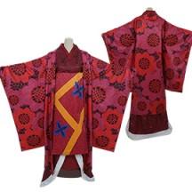 鬼滅の刃 堕姫 浴衣 和服 コスプレ衣装