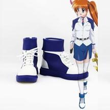魔法少女リリカルなのは 高町なのは コスプレブーツ/靴