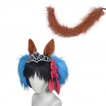 ウマ娘 プリティーダービー ダイワスカーレット 髪飾り コスプレ道具