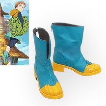 七つの大罪 キング King Grizzlys Sin of Sloth コスプレ靴/ブーツ