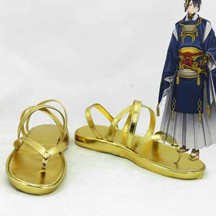 刀剣乱舞 三日月宗近 コスプレ靴/ブーツ