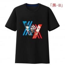 DARLING in the FRANXX Tシャツ ゼロツー コスプレシャツ 半袖 夏用 アニメ風コスプレ カップル 通常用