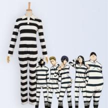 監獄学園 監獄服 プリズンスクール オールインワン コスプレ衣装