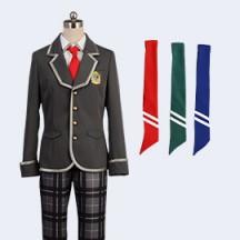 ボーイフレンド(仮)きらめき 私立藤城学園男子制服 ネクタイx3 コスプレ衣装