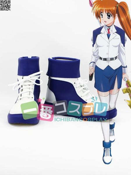 魔法少女リリカルなのは 高町なのは コスプレブーツ/靴1