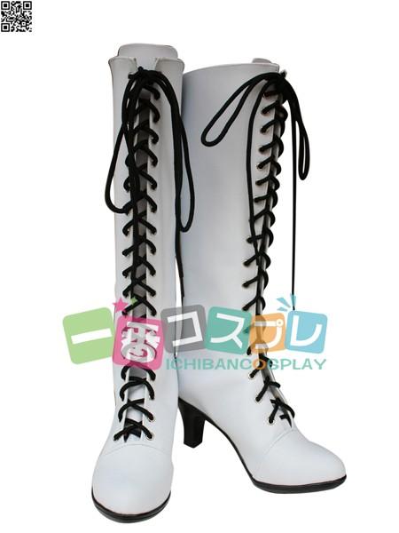 Axis powers ヘタリア プロイセン 女性化 コスプレブーツ/靴1