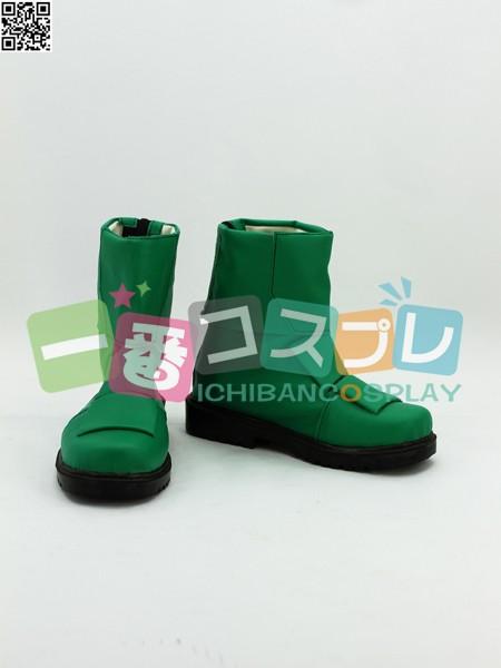 獣拳戦隊ゲキレンジャー メレ コスプレブーツ/靴