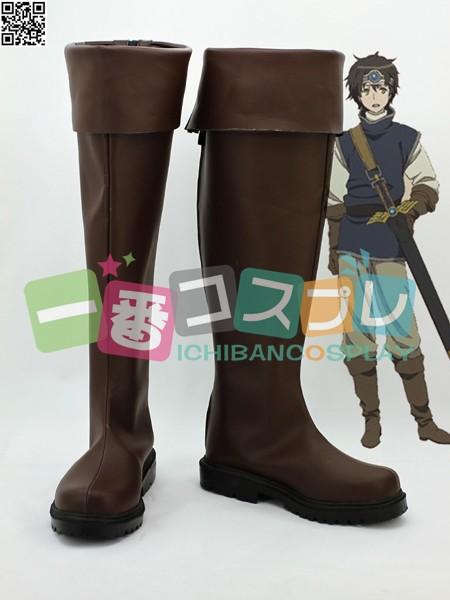 まおゆう魔王勇者 勇者 コスプレブーツ/靴