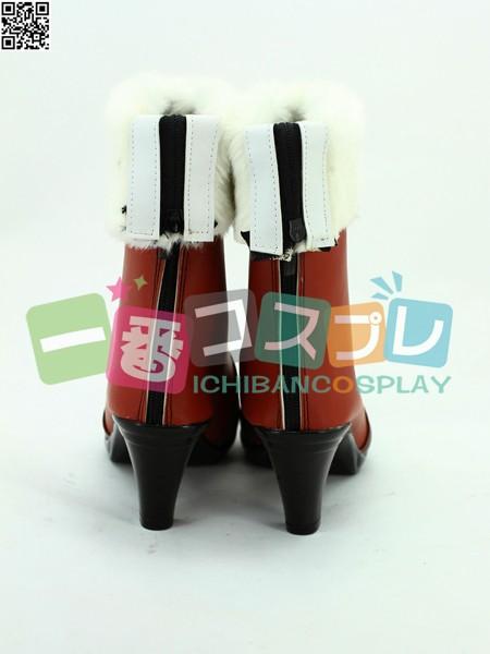 VOCALOID ボーカロイド 初音ミク コーヒー装 コスプレブーツ/靴