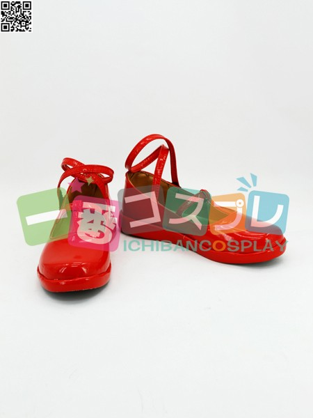 ハートの国のアリス アリス リデル コスプレブーツ/靴1