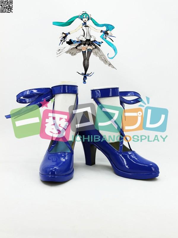 ボーカロイド vocaloid セブンスドラゴン2020 SeventH-HeaveN 初音ミク コスプレ靴1