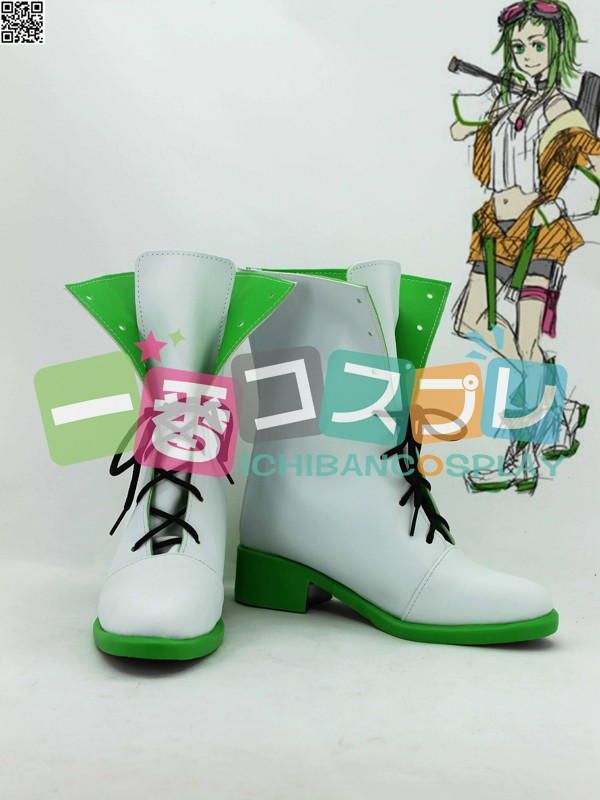 ボーカロイド vocaloid Synchronicity ~巡る世界のレクイエム~ GUMI コスプレ靴1