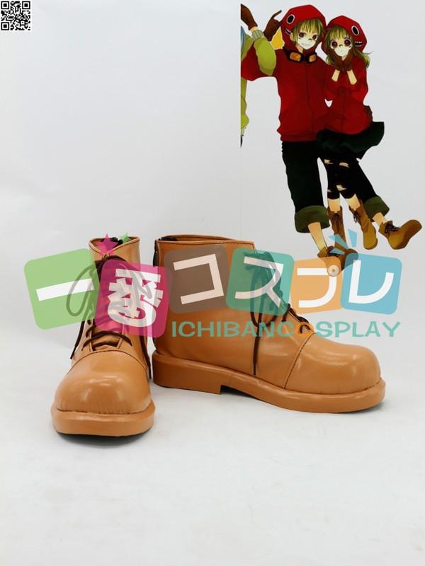 VOCALOID ボーカロイド マトリョシカ GUMI コスプレ靴