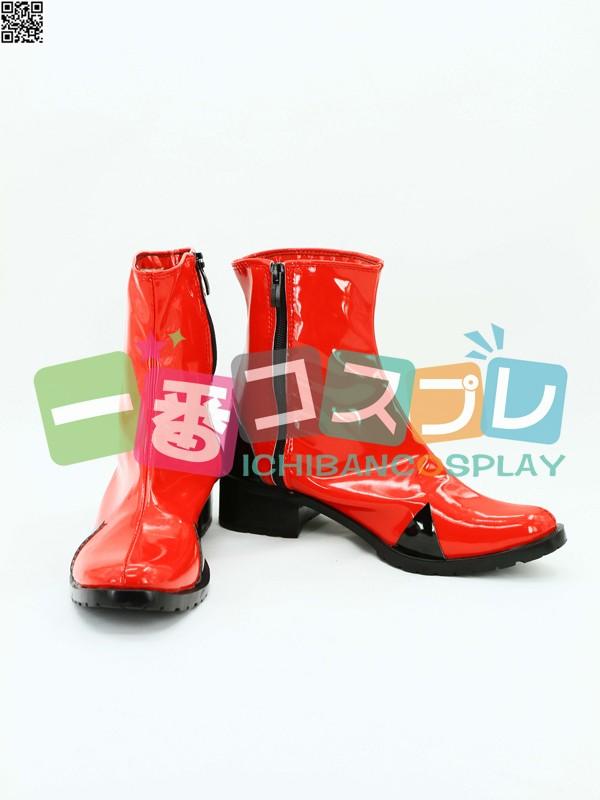 新世紀エヴァンゲリオン EVA アスカ コスプレ靴1