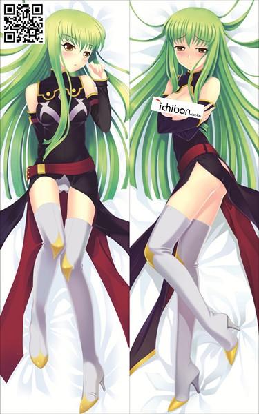 コードギアス 反逆のルルーシュ C.C. シーツー アニメ抱き枕カバー 両面等身大 サイズ/素材選択可