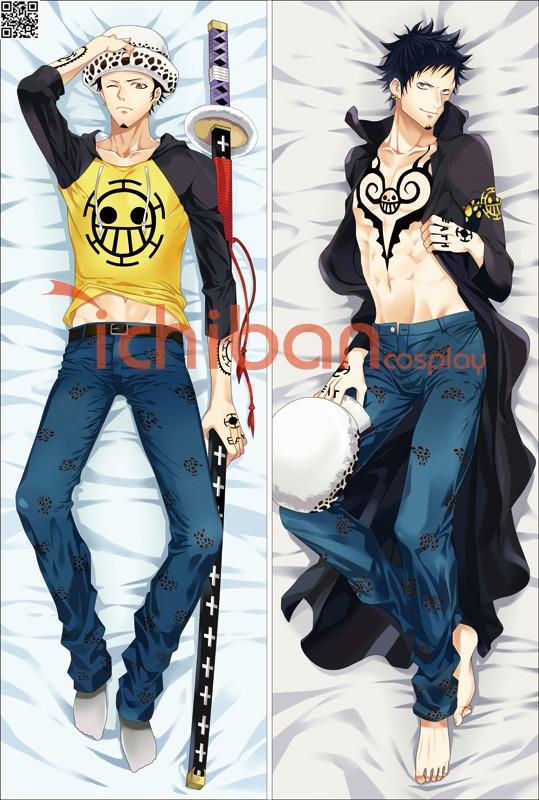 ONE PIECE ワンピース トラファルガーロー アニメ抱き枕カバー 両面等身大 サイズ/素材選択可